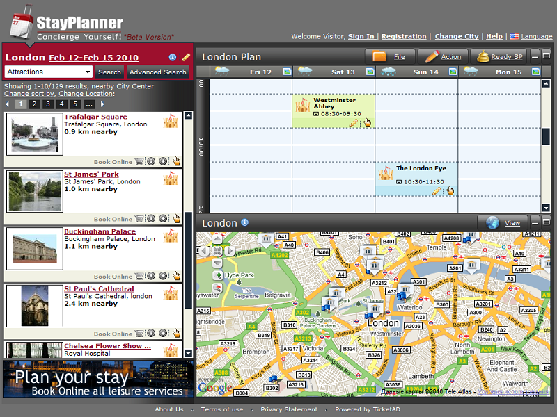 Stay Planner